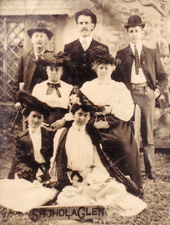 Family of C. W. Netherwood of New Jersey, early 1900's