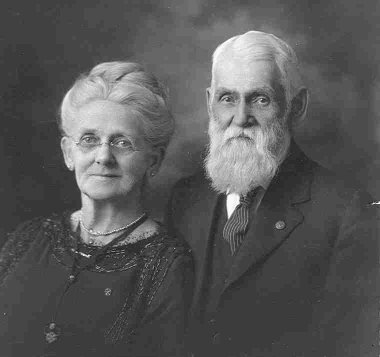 Portrait of C. W. and Mary